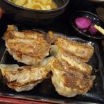 甲州麺 - 和風餃子