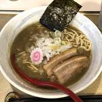 麺屋 なると - 料理写真:「濃厚煮干しそば(醤油)」800円