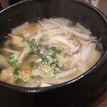 くんむる食堂 サンギュ - 干しだらのスープ(塩味)