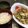 初日 - 料理写真:焼きそば定食