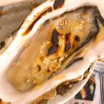 復興居酒屋がんばっぺし - 私は牡蠣の西京味噌焼きを戴く