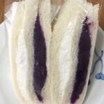 横浜サンド - 紫芋とクリーム