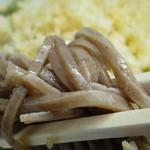 まぼろしの富倉そば - 料理写真:蕎麦アップ
