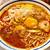 福一 - 料理写真:海老坦々麺(中太麺、かため) 900円(税抜)ON卵