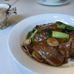 中国料理 古稀殿 - 牛肉オイスター飯(もう少し締まった名前だった気もする)