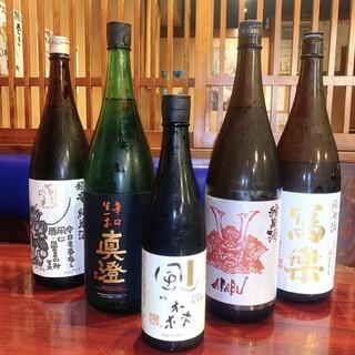 定番~珍しい日本酒も◎ドリンクの種類も幅広くラインナップ