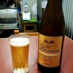 松月庵 - 瓶ビール:600円