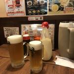 お好み焼 長田屋 - 生ビール