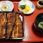竹の屋 - うな重(特松)