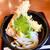 本格手打 もり家 - 料理写真:ぶっかけ天ぷらうどん(冷) 800円