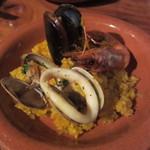 しぇりークラブ - 魚貝のパエリア(\1,890-)