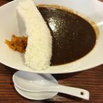 麺家 西陣 - ダムカレー800円