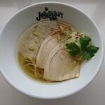 らーめんstyle JUNK STORY - 料理写真:地鶏と魚介のこだわりだし ヒカリの塩そば