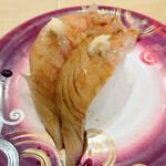 回転寿し トリトン - 真鯛しょうゆ漬け