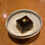 Bakuzambou - 穴子とごぼうの煮こごり