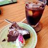 風待茶房 - 料理写真:ガトーショコラ&アイス珈琲