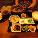 山の駅レストラン - 丹波霧芋そば定食(冷) 1380円