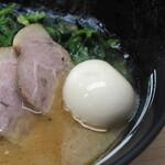 武蔵家 - 味玉