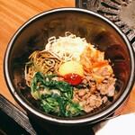 Yakiniku rakuhachi - 石焼きビビンバ