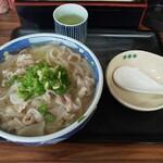 めし処 いち膳 - 料理写真:肉うどん