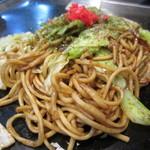遊・・・・・・・ing - 焼きそば¥750平うち麺