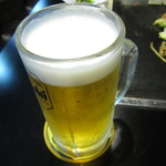 遊・・・・・・・ing - 生ビール¥450
