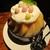 THE FUNATSUYA - 料理写真:人気No.1の 桃桃桃氷 1,600円 + ミルクエスプーマのトッピング 200円 =1,800円(税別)。     2020.07.24