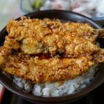 金沢食堂 - 銚子産マイワシ天丼
