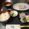 一里塚 - 料理写真:日替わり太刀魚塩焼き定食