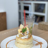 イーズカフェ - 料理写真:アップルシナモンパンケーキ