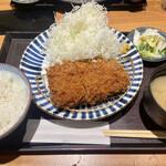 とんかつ 田 - ヒレカツ定食