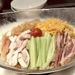 過門香 - セット外の注文 冷やし五目中華麺
