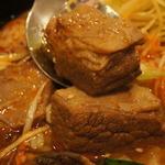 ユン家の食卓 - 厚切りバラ肉