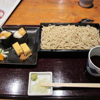 蕎麦 きびや - 料理写真:天むすセット