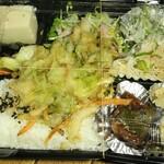 農民カフェ - 農民有機総菜弁当、1,080円也。