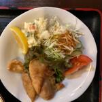 一二三亭 - 唐揚げとポテサラも美味しい!!