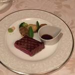 米沢牛黄木 金剛閣 ステーキレストラン 明星 - 米沢牛ランプ(75g)