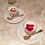 米沢牛黄木 金剛閣 ステーキレストラン 明星 - パンナコッタ