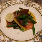 ル ビストロ アゴウ - 牛バラ肉の麦酒煮