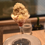 高級和栗モンブラン専門店 栗歩 - 季節の果物パルフェ