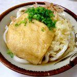 桑島製麺所 - ぶっかけ冷2玉+お揚げ