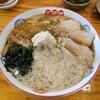 五福星 - 料理写真:背脂生姜ワンタン麺