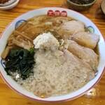 133781763 - 背脂生姜ワンタン麺
