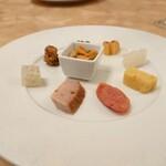Ginzahouen - 前菜。フレンチのような美しさやぁ 202007