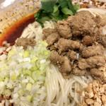 成都担担面 - 成都坦々麺(汁なし)@950円   程よい辛味と痺れでグー✊