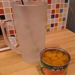おでんと肴 だいきち - 缶詰みかんサワー
