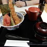 """横濱屋本舗食堂 - 母は""""夏の濱天丼"""""""