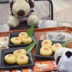 上野動物園 バードソング - だから今回もパンダ団子は絶対食べようと思ってたの~ちびつぬ「次はシャンちゃんのカードを付けてくれたら嬉しいわね」