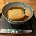 麺闘庵 - 巾着きつね