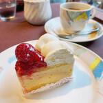 ぼん・りびえーる - レアチーズケーキ